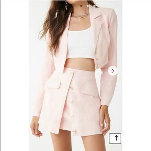 Forever 21 blazer and skirt set
